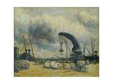 Le Port, Quai a Schiedamm Giclee Print by Maximilien Luce