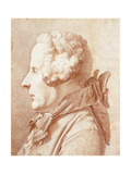 Portrait of Monsieur Hertault of Lienay Giclee Print by Rene Michel Slodtz