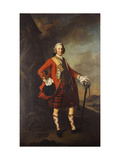 Portrait of John Campbell, 4th Earl of Loudon (1705-1782) Giclee Print by Allan Ramsay