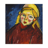 Child with Blue Eyes Posters by Alexej Von Jawlensky