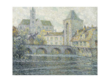 Moret Landscape, the Bridge Prints by Henri		 Le Sidaner