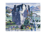 Barcaldine Castle, Argyll Giclee Print by Francis Campbell Cadell