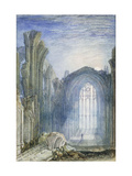 Melrose Abbey: An Illustration to Sir Walter Scott's 'The Lay of the Last Minstrel' Giclee Print by J. M. W. Turner