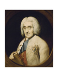Portrait of Lord Chesterfield, wearing the Order of the Garter Giclee Print by (circle of) Thomas Gainsborough