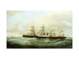 The Orient Line Steam Ship, 'Orient' on the Clyde Prints by Samuel		 Walters