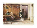 A Clerical Intervention Giclee Print by Ludwig		 Passini