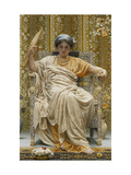 A Revery- A Look of Sadness on a Restful Face Giclee Print by Albert Joseph		 Moore