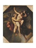 The Rape of Oreithyia Giclee Print by Giovanni Battista		 Cipriani