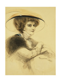 La Belle Epoque Giclee Print by Zofia Atteslander