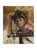 Portrait of Cicely Hey Prints by Walter Richard Sickert