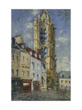 The Bell Tower of St. Maclou Prints by Gustave		 Loiseau