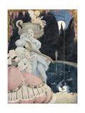 Elegante et Pierrot Giclee Print by Gerda Wegener