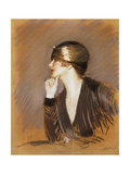 Portrait of Lucette Posters by Paul Cesar		 Helleu