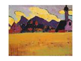 Landscape near Murnau Impression giclée par Alexej Von Jawlensky