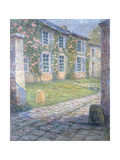 The Rose House in Versailles Giclee Print by Henri		 Le Sidaner