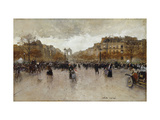 Rond Point des Champs Elysees, Paris Posters by Luigi		 Loir