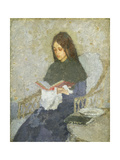 The Precious Book Giclee Print by Gwen		 John