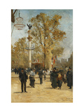 L'Avenue Victoria Giclee Print by Pierre Louis Leger Vauthier