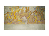 Clash of the Titans Giclee Print by Koloman		 Moser