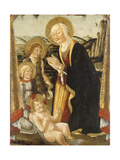 The Madonna and Child with the Infant Saint John the Baptist and an Angel Giclee Print by Bernardo di Stefano		 Rosselli
