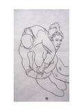 Being Embraced Poster by Egon Schiele