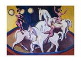 Jockeyakt Giclee Print by Ernst Ludwig Kirchner