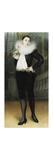 Pierrot Premium Giclee Print by Pierre Carrier-Belleuse