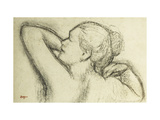 Bust of Woman Poster by Edgar Degas