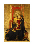 The Madonna of Humility Poster by The Master of the Carrand Tondo