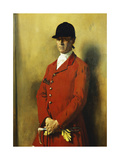 Portrait of Captain Marshall Roberts, Master of the Fox Hounds Giclee Print by Sir William		 Orpen