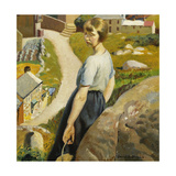 The Girl, Zennor Posters by Harold		 Harvey