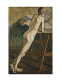 Nude Boy Standing Giclee Print by Christian		 Rohlfs