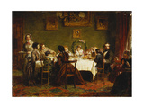 Sketch for 'Many Happy Returns of the Day' Giclee Print by William Powell		 Frith