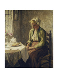Grace before the Meal Giclee Print by Evert		 Pieters