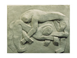 The Wrestlers Giclee Print by Henri		 Gaudier-Brzeska