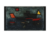 Departing Steamer Giclee Print by Paul Klee