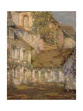 The House below the Church Print by Henri		 Le Sidaner