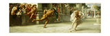 Atalanta's Race Premium Giclee Print by Edward John Poynter