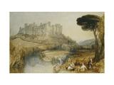 Ludlow Castle Reproduction procédé giclée par J. M. W. Turner
