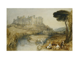 Ludlow Castle Prints by J. M. W. Turner