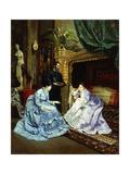 The Artist's Studio Giclee Print by Henri Pierre Hippolyte Dubois
