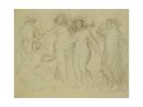 Study for the Judgement of Paris Art by Pierre-Auguste Renoir