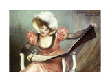 The House of Music Print by Pierre Carrier-Belleuse