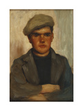 The Fisherboy Giclee Print by Henry Scott		 Tuke