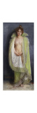 A Nude with a Green Cloak Premium Giclee Print by Pierre		 Carrier-Belleuse