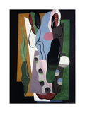 Les Tulipes Giclee Print by Georges Valmier