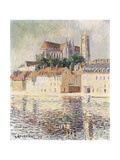 Cathedrale d'Auxerre Premium Giclee Print by Gustave Loiseau