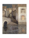 The House by the River, Chartres Premium Giclee Print by Henri		 Le Sidaner