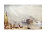 Portsmouth Harbour from Gosport Prints by George Sidney		 Shepherd
