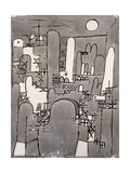 The Tower Giclee Print by Paul Klee